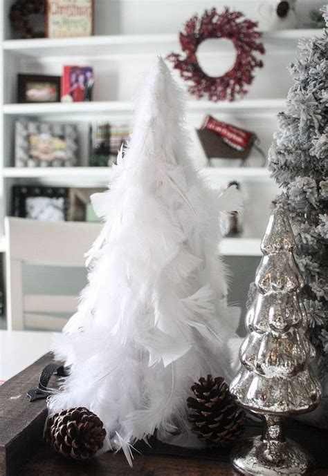 magical feather christmas tree decoration ideas