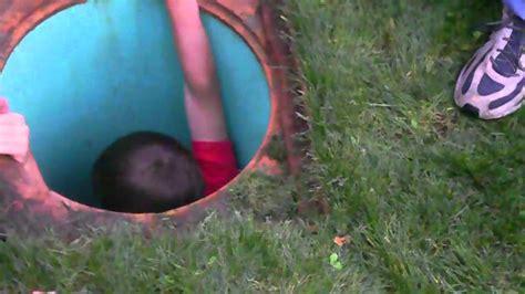 kid  stuck  water drain doovi