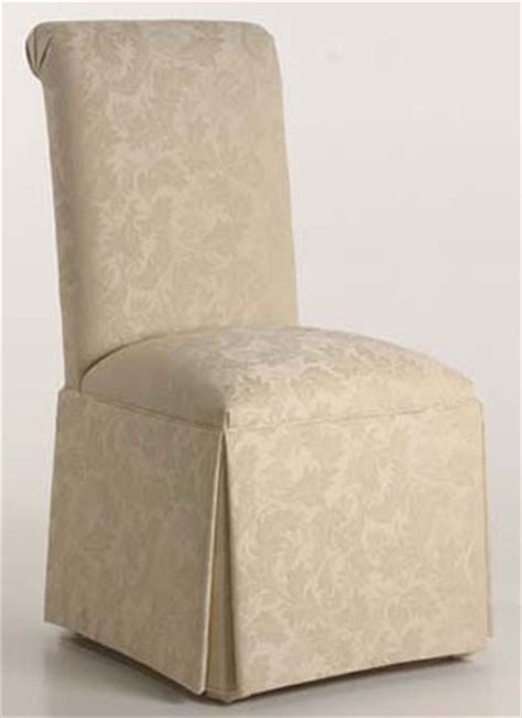 upholstered parsons dining room chairs scroll back chair