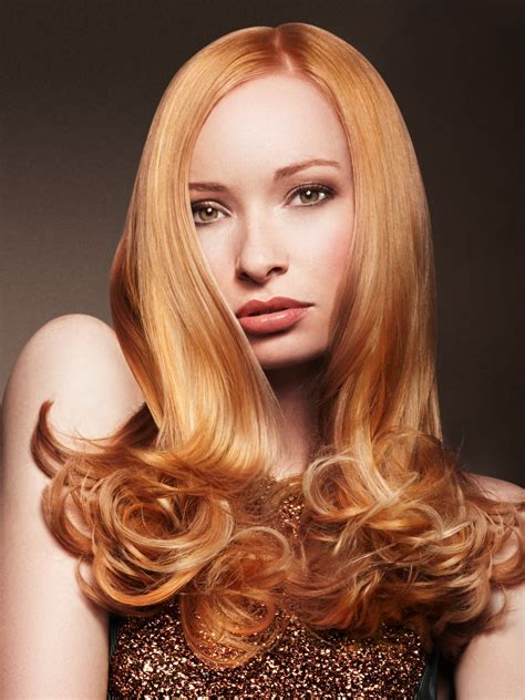 Hairstyles With Tips hair with rounded curls in the tips for a ladylike look