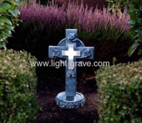 solar grave light solar cemetery light solar memorial