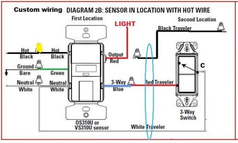 Replacing Way Switch With Motion Sensor Doityourself