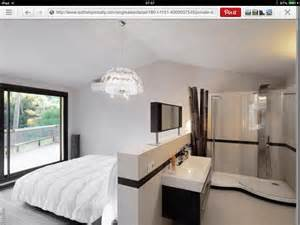 We The Open Plan Design Of This Bedroom And Bathroom by Like The Open Plan Ensuite Idea For A Of Bedrooms