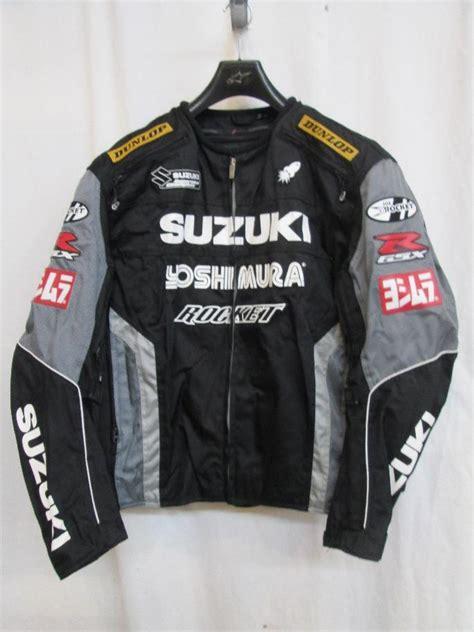Joe Rocket Gsxr Suzuki Champion Jacket Black/gunmetal Xxl