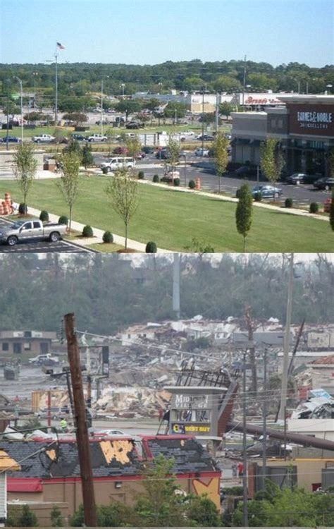 Before & After | Tuscaloosa, Alabama Tornadoes | Pinterest ...