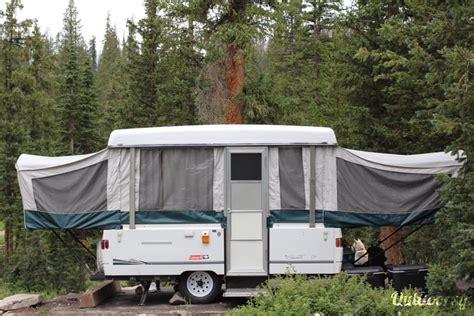 coleman grand  santa fe trailer rental