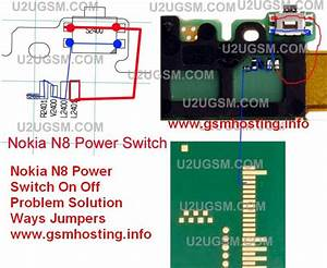 Cellfirmware  Nokia N8 Power Switch On Off Problem Solution Ways Jumpers