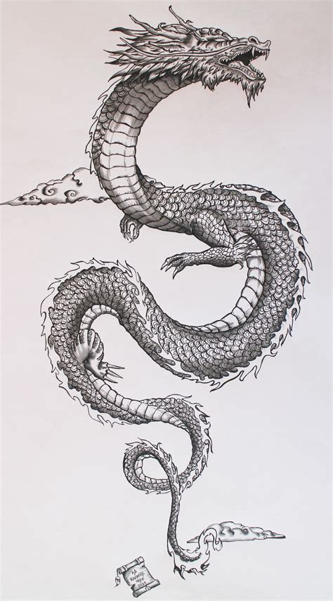 This Japanese Dragon Is Really Cool The Scales And