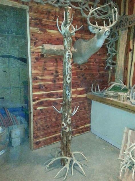 cedar antler coat rack deer antler decor deer hunting