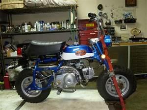 Honda Mini Trail Z50 Monkey Bike K2 Hardtail Z 50 K2 Restored