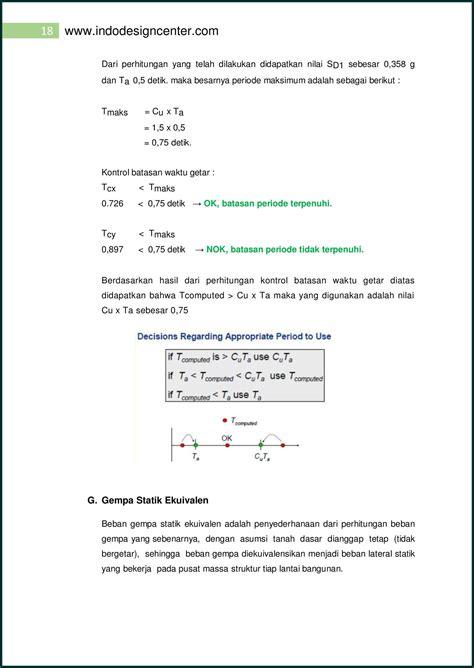 Toko Teknik Malang Perhitungan Analisa Struktur Ruko 3 Lantai 018 Arsip
