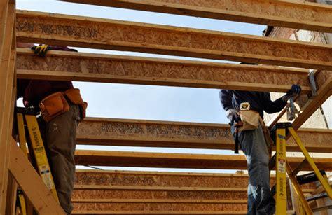 Tji Floor Joist Depths by Using Engineered Wood I Beam Floor Joists At Habitat One