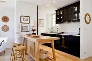 des cuisines ouvertes conviviales et ultra pratiques With nice quelle couleur avec le turquoise 7 deco salon prune et gris
