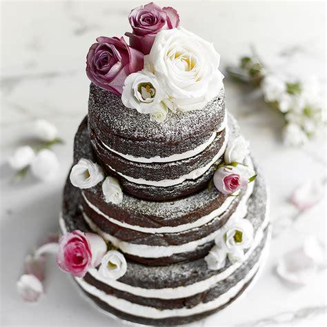 tier chocolate wedding cake baking mad
