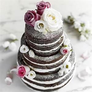 Three Tier Chocolate Wedding Cake | Baking Mad