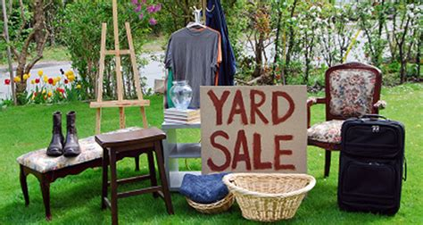 Backyard Sales by 6 Tips For A Successful Yard Sale