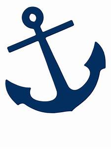 """""""Navy Blue Anchor"""" Stickers by M Studio Designs Redbubble"""