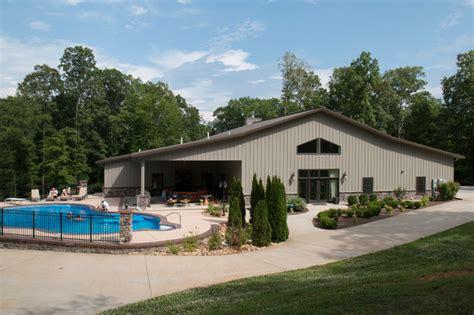 Full Metal Building Home W/ Pool