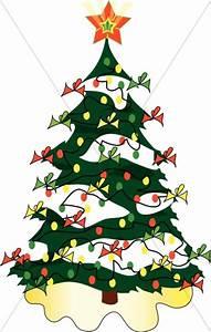 Holiday Essence Christmas Lights Cute Christmas Tree Clipart