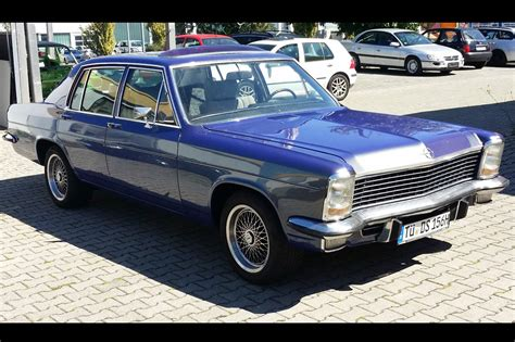 Opel Diplomat by Just Listed German 1973 Opel Diplomat V 8 Automobile