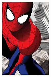 Spiderman, -, Original, Poster, Inspired, By, Marvel, Comics, Superhero