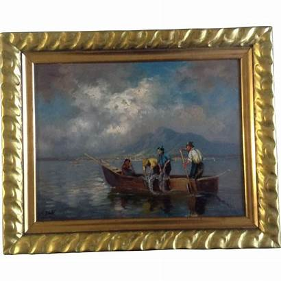 German Oil Painting Artist 19th Century Signed
