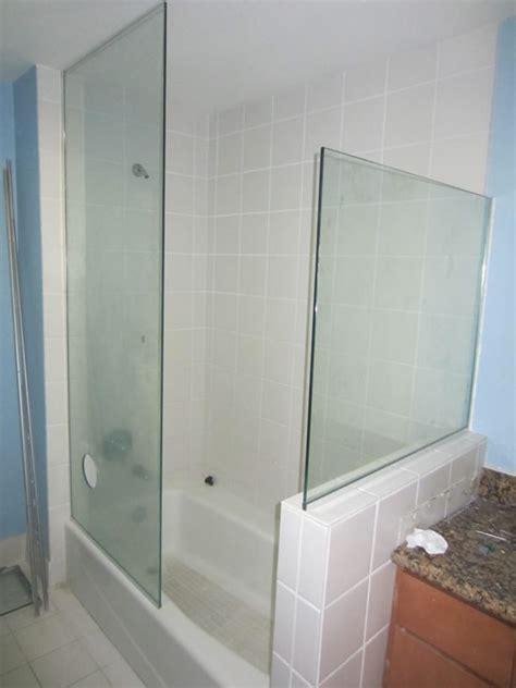 small bathroom ideas doorless enclosure hillcrest patriot glass and mirror
