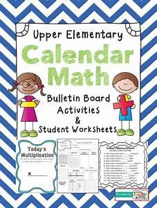 Calendar Math For Upper Elementary  Lots Of Calendar