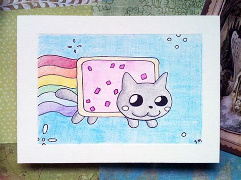 Top 10 Etsy Creations Inspired By Nyan Cat  Quirk Books