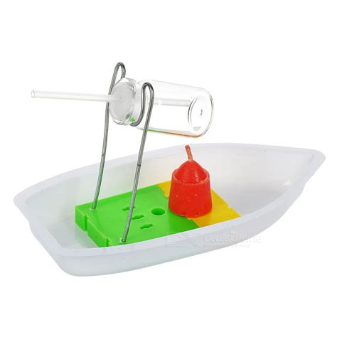 Steam Boat Experiment by Diy Steamboat Experiment Educational Toy White Yellow