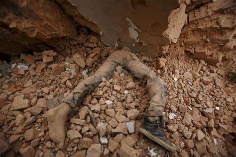 Damage From Devastating Nepal Earthquake