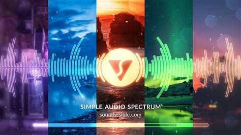 The app features a channel guide that helps you find and. FREE Audio Spectrum Music Visualizer AE Template - SoundVisible.com   Music visualization ...