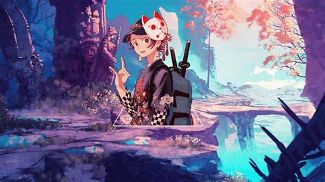 papel de parede kimetsu  yaiba tanjiro kamado anime