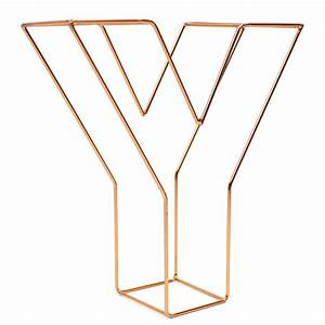 copper wire letter y 15 cm hobbycraft With copper letters hobbycraft