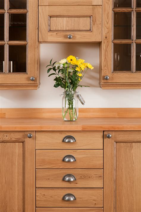 unfinished oak kitchen cabinets for solid wood kitchen cabinets 9546