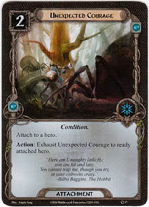 lotr lcg deck lists courage set lord of the rings lcg