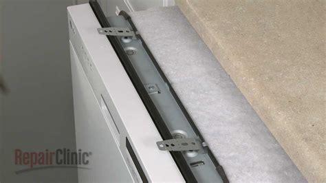 dishwasher mounting bracket replacement lg dishwasher