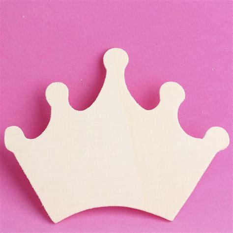 unfinished wood princess crown cutout wood cutouts