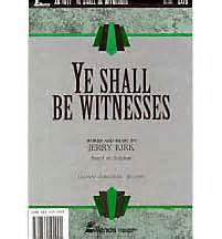 Ye Shall be Witnesses - Anthem | LifeWay Christian Anthem