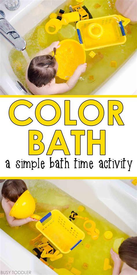 color bath toddler activity baby amp toddler activities 669   4e0bce7c985a0315e47002a1e91f7695