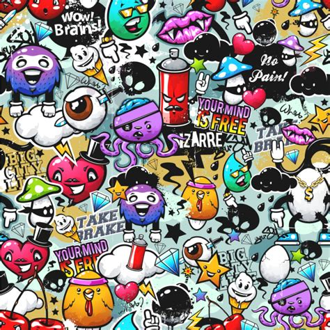 Graffiti Wallpaper & Surface Covering YouCustomizeIt