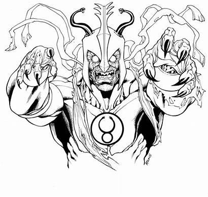 Thundercats Ra Coloring Mumm Evil Para Colorear