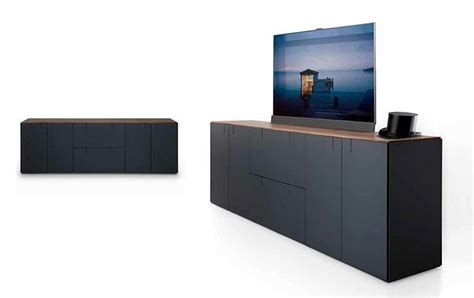Tv Möbel Versenkbarer Fernseher by Modulm 246 Bel Quot Balance Quot Versteckt Den Fernseher Bild 17