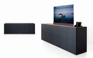 Versenkbarer Fernseher Möbel : modulm bel balance versteckt den fernseher bild 17 sch ner wohnen ~ Eleganceandgraceweddings.com Haus und Dekorationen
