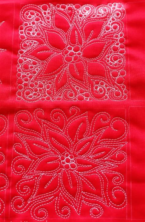 poinsettia  motion quilt favequiltscom