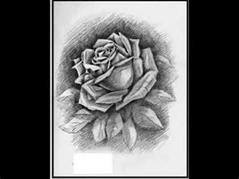 dibujos  lapiz de rosas corazones  rostros youtube
