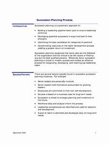nonprofit succession planning template sample succession With nonprofit succession planning template