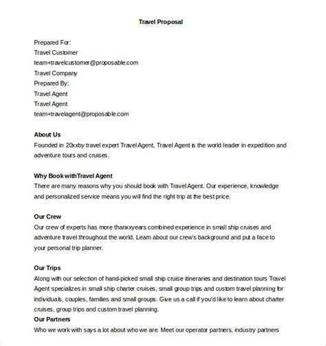 Company Trip Proposal Template 32 business proposal templates doc pdf free