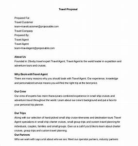 Sample business proposal letter travel agency contoh 36 for Travel agency business proposal letter sample