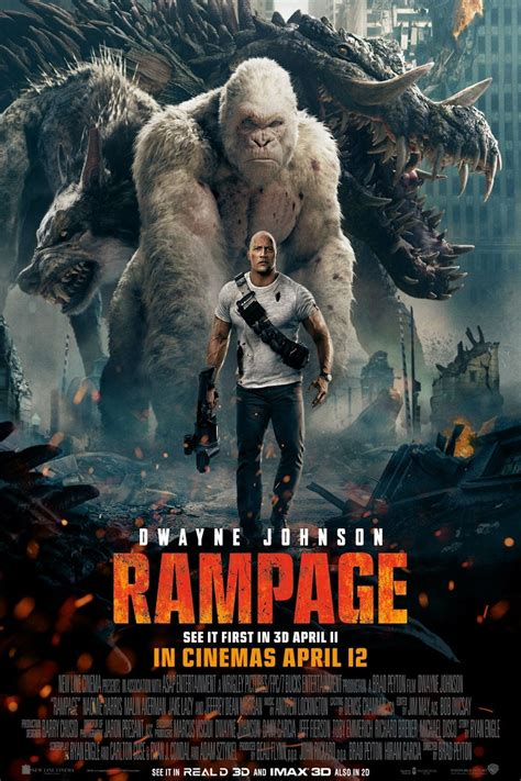 rampage  posters